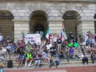 CVO was a major presence at the Poor People's Campaign rally on May 28th.