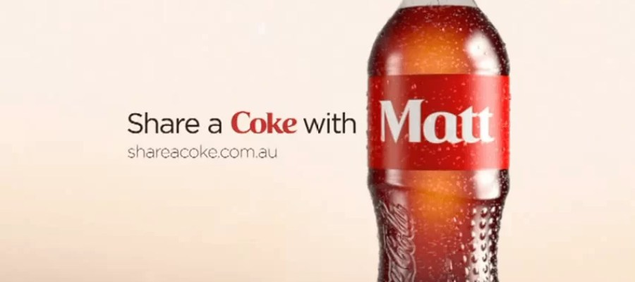 Share a Coke with Matt
