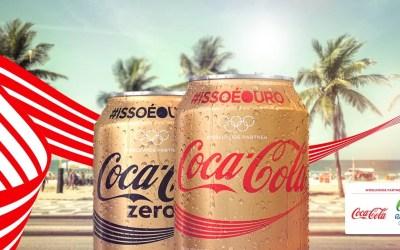 That's Gold : la campagne de Coca-Cola pour les Jeux Olympiques de Rio 2016