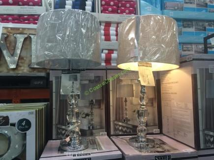 Click to Enlarge - Stylecraft Crystal 2-Pack Table Lamp Set – CostcoChaser