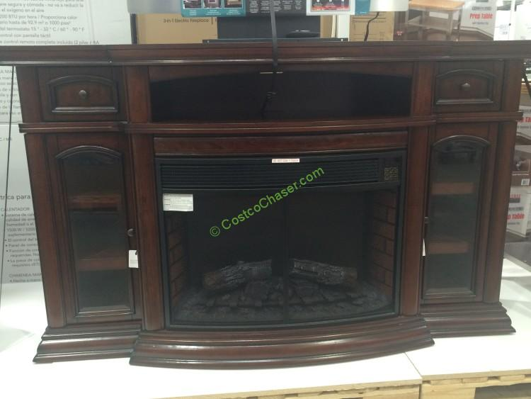 "Ember Hearth Electric Fireplace 70"" Media Console – CostcoChaser"