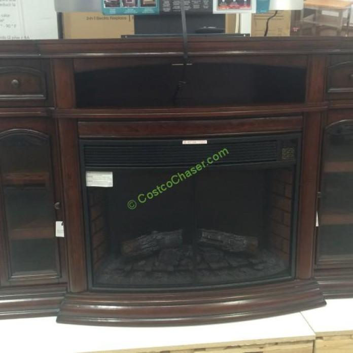 Ember Hearth Electric Fireplace  Media Console  CostcoChaser - Costco electric fireplace