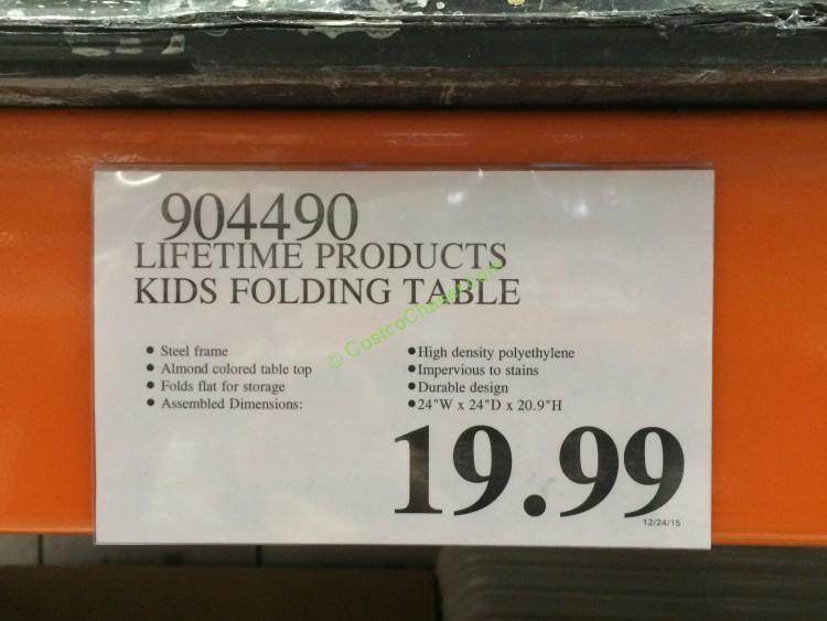 lifetime products kits folding table u0026 stacking chair u2013