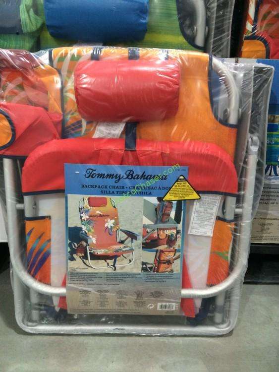 Costco 639670 Tommy Bahama Backpack Beach Chair