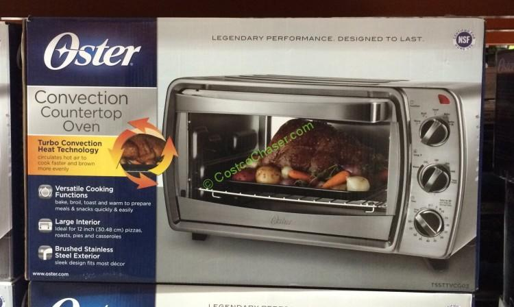 Marvelous Oster 6 Slice Stainless Steel Convection Countertop Oven, TSSTTVCG03