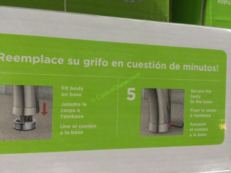Costco 962791 Water Ridge Euro Style Kitchen Faucet