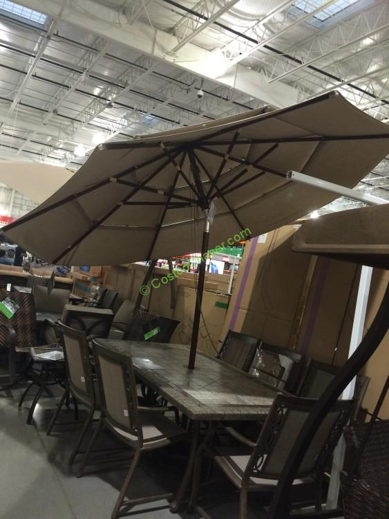 Proshade 11u0027 Market Umbrella With Hardwood Pole