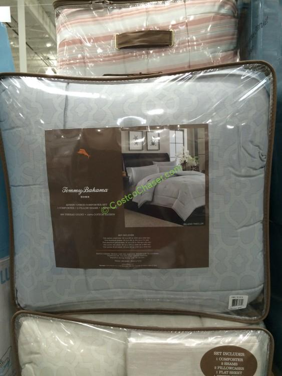 tommy bahama 7pc bed ensemble queen - Costco Down Comforter