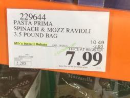 Costco-229644-Pasta-Prima-Spinach-Mozz-Ravioli-tag