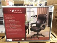 la-z-boy executive office chair top grain leather, model# 48025