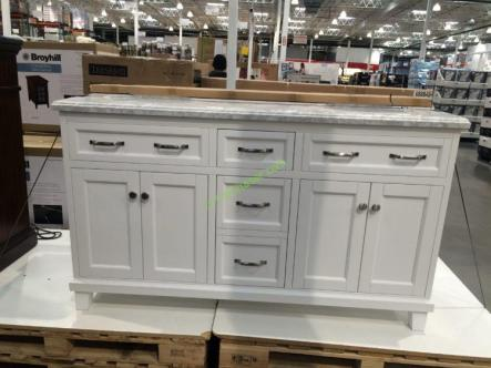 Costco-688842-60-Double-Sink-Wood-Vanity-White