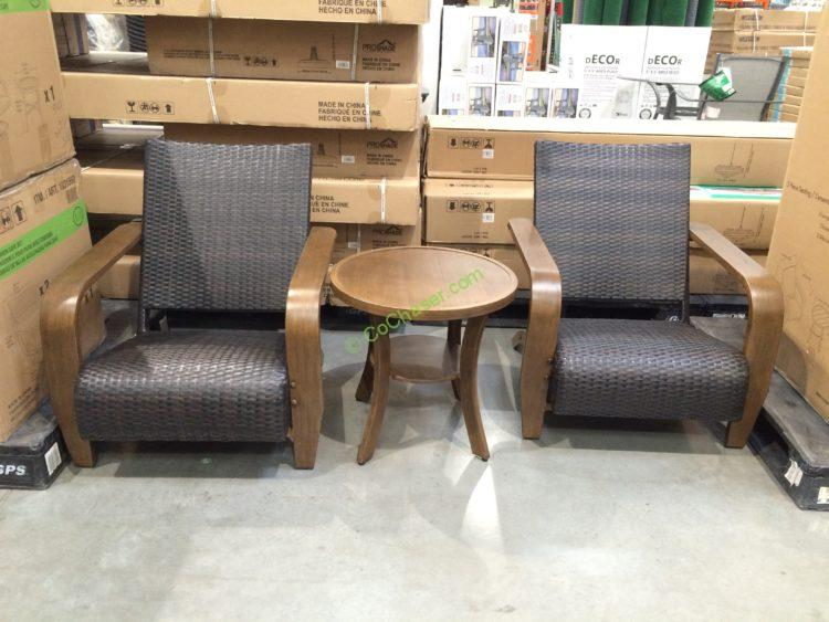 Brown Jordan 3 Piece Adirondack Seating Set