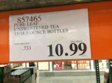 Costco-857465-Pure-Leaf-Unsweetened-Tea-tag