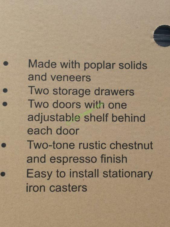 "Martin Furniture 43"" Accent Cabinet – CostcoChaser"