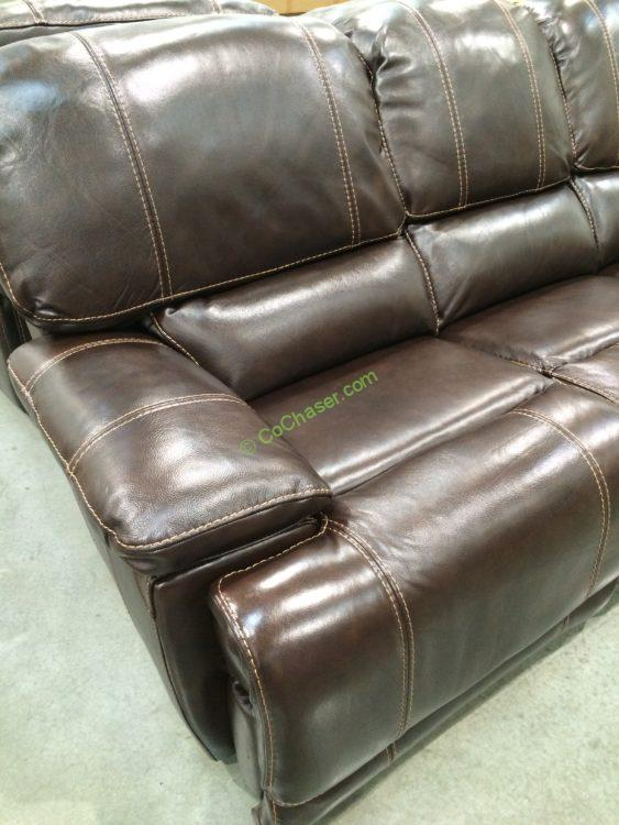 Costco-4560014- Leather-Power-Reclining-Sofa-part & Leather Power Reclining Sofa u2013 CostcoChaser islam-shia.org