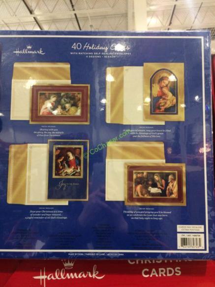 Costco-1456756-Hallmark-Christmas-Cards-40-Count-back