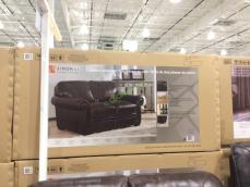 Costco-1049174-1049175-Simon-Li-Leather-Sofa- Loveseat-box1