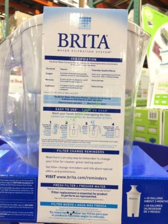 Costco-9993333-Brita-Lake-Pitcher-with-2Advanced-Filters-use