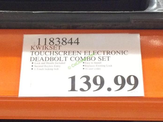 Costco-1183844-Kwikset-Touchscreen-Electronlt-Deadbolt-Combo-Set-tag