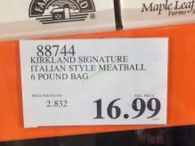 Costco-88744-Kirkland-Signature-Italian-Style-Meatball-tag