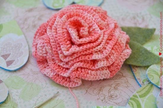 Broche a crochet