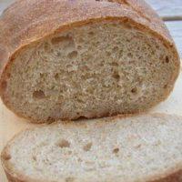 Pan hecho con harina integral de Trigo
