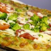 Nutritiva Pizza jardinera de avena