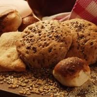 Delicioso pan casero con semillas