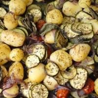 Exquisita receta de Patatas y Calabacines al horno
