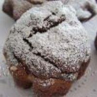 Como hacer Magdalenas de queso Ricotta y Cacao