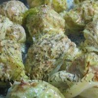 Un segundo original: Rollitos de repollo con carne y queso