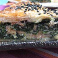 Espinacas y salmón... Un Matrimonio muy original!
