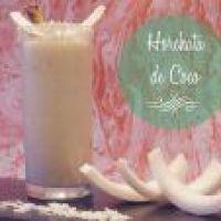 Refrescante Horchata de Coco