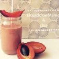 Licuado Antioxidante contra la Gastritis: de Mamey con Chía