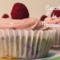 Cupcakes de Frambuesa ligeros