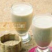 Preparar leches vegetales: Leche de Ajonjolí o Sésamo