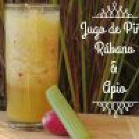 Jugo de Piña, Rábanos y Apio