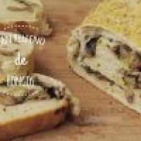 Pan casero relleno de Hongos (Champiñones)