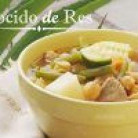 Cocido de Res mexicano receta casera