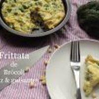 Frittata de Brócoli, Guisantes y Maíz amarillo