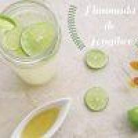 Limonada refrescante de Jengibre