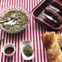 Salsa Chimichurri con Pimientos Asados