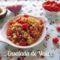 Ensalada de Maíz con Tomate Cherry