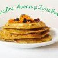 Hotcakes o Panquecas de Avena y Zanahoria