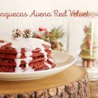 Panquecas o Hot Cakes de Avena Sabor Red Velvet