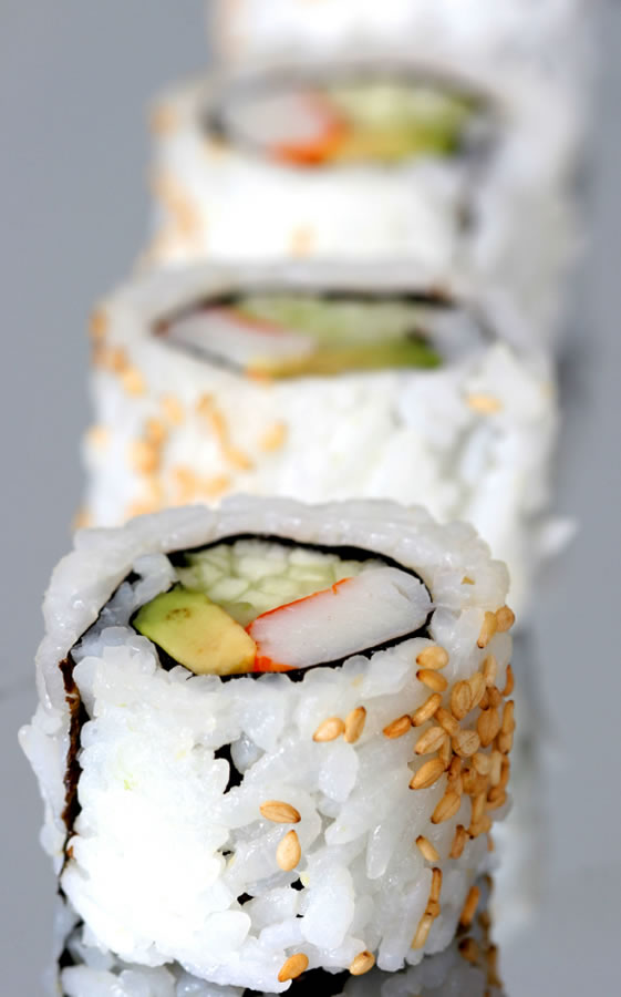 Sushi: California Roll