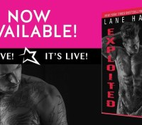 Release Blitz & Giveaway:  Exploited – Lane Hart