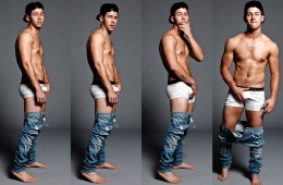 "Nick Jonas ""Teaches"" The Art Of Crotch Grabbing"