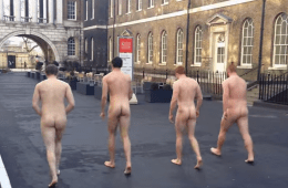 London Student Ruggers Strip For LGBT Charity [Video]