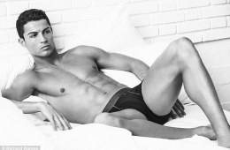 MAN CANDY: Cristiano Ronaldo Only Has Thighs For You In Latest Underwear Campaign
